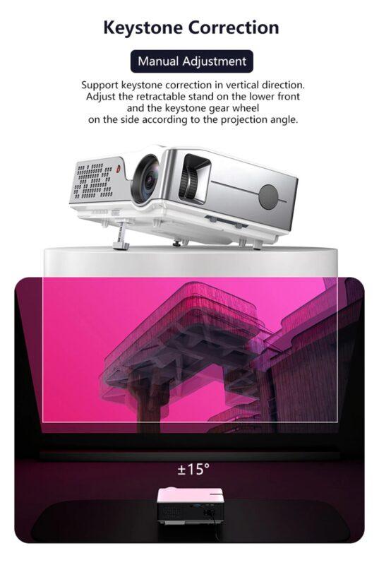 Vidéoprojecteur P500 14