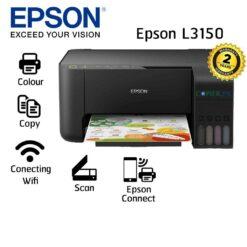 Epson EcoTank L3150 Imprimante à réservoirs rechargeables (C11CG86407)es-wi-fi-direct-noir