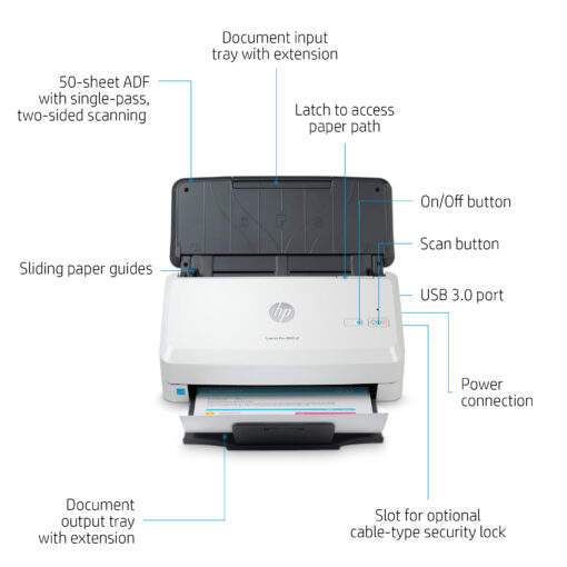 Scanner HP ScanJet Pro 2000 s2 (6FW06A)