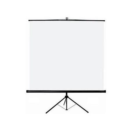 Ecran manuel sur trépied 175 x 175 cm - Blanc Mat - ORAY SCREEN