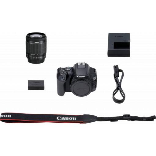 Reflex Canon EOS 250D + objectif EF-S 18-55mm f/4-5.6 IS STM (3454C002AA)